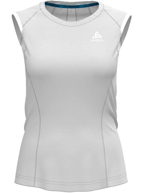 Odlo BL Zeroweight Ceramico - Débardeur running Femme - blanc